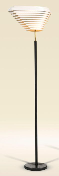 Buy online, view images and see past prices for ALVAR AALTO | 'Angel's Wing' Floor Lamp, Model no. A 805. Invaluable is the world's largest marketplace for art, antiques, and collectibles.