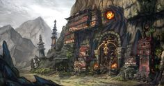 Tuskwall Temple by AnDary on DeviantArt