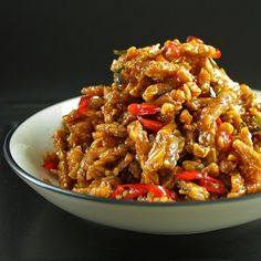 Kering Tempeh – Fried Tempeh with Sweet and Spicy Glace