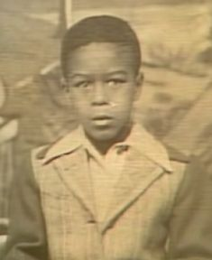 Richard at around seven years old