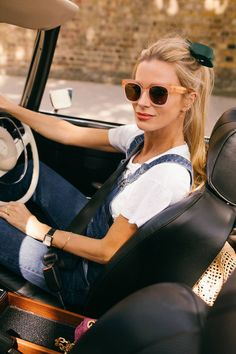 See Laura Bailey's recommendations for the week Laura Bailey, Fashion Merchandising, Summer Wardrobe, Casual Chic, Sunglasses Women, Vogue, Street Style, Womens Fashion, Shirts