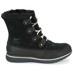 c2b2b5c85f734 Cozy joan. Sorel COZY JOAN Noir - Chaussures Bottes de neige Femme ...