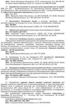 Оприлюднені організатори та причетні до вбивств людей: плани та прізвища 24 лютого 2014 http://www.pravda.com.ua/news/2014/02/24/7016050/