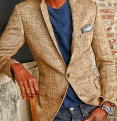 Relaxed Style. Blazer