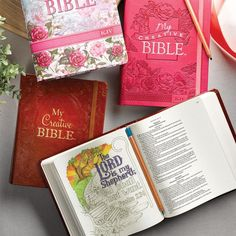 What an exciting new way to experience the God's Word in scripture! This KJV Journaling Bible contains about 400 hand-drawn scripture illustrations for coloring