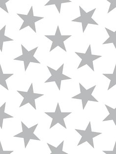 Lucky Star Wallpaper - Sample / Silver