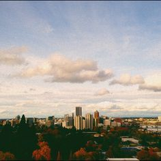 Portlandia in fall attire. Photo by n8smith