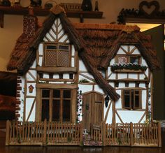 1/12th Scale Dolls House...Welcome To Pumpkin Cottage!!