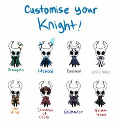 Outfits for Little Ghost~ //my old stuff, more info in the comments : HollowKnight Character Design References, Character Art, Chibi, Team Cherry, Hollow Art, Hollow Night, Knight Art, Dark Souls, Character Design Inspiration