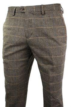 Checked Trousers Mens, Mens Dress Trousers, Mens Plaid Pants, Mens Trousers Formal, Nigerian Men Fashion, Indian Men Fashion, Fashion Men, Style Fashion, Australian Clothing