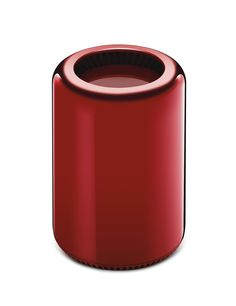 Mac Pro - Selected and customised by Jony Ive and Marc Newson for the (RED) Auction 2013.