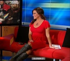 Robin Meade Boots and Fashion