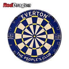 Everton FC Dartboard - Red Dragon Darts