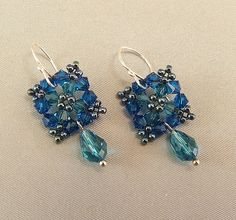Crystal Bead Earrings