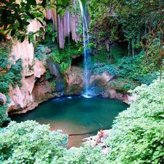 Ashour waterfalls - which is 30 minutes by car and hours by foot, far from Chefchaouen Marrakech, The Places Youll Go, Places To See, Morocco Chefchaouen, Some Beautiful Pictures, Photo Images, Morocco Travel, Beautiful Places To Visit, Vacation Spots
