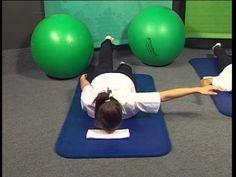 ▶ Hátizmok erősítése - Szabó Klára - YouTube Dips, Health Fitness, Exercise, Gym, Workout, Youtube, Sports, Therapy, Ejercicio