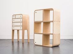 Dresser and shelving unit from Lozi Designs
