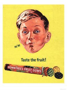 Vintage Posters - Vintage Chewing/Bubble Gum's Advertisements