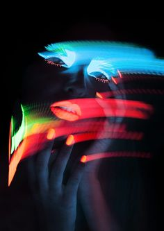 Neon lights by Nadine Schönfeld Neon Photography, Motion Photography, Light Painting Photography, Pinterest Photography, Photography For Beginners, Photography Projects, Tinta Neon, Uv Makeup, Frames