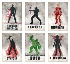 Iron Man and Hawkeye <3