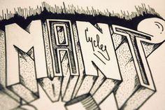 PipeCity, détails, Cycles Fumant. Crayon à papier et feutre noir.