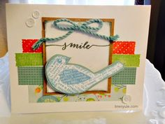 cReAtE with bReN yULe ~ tHe iNsPiRaTiOn InStiTuTe: Simply Inspired Blog Hop~Close To My Heart {CTMH} Seasonal Expressions II #Blossom #CardmakingWOTG #C1613PaperBird-HostessRewards