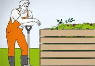 Wie Sie einen Komposthaufen anlegen, erklärt Ihnen diese Schritt-für-Schritt-Anleitung in nur 5 Schritten. Mit praktischer Material- & Werkzeugliste.