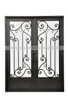 Puertas on pinterest - Puertas hierro forjado ...