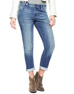 AUDREY - SLIM FIT STRAIGHT CUT ANKEL LENGTH TURN UP DENIM - True Religion