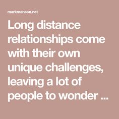 Long distance relationships come with their own unique challenges, leaving a lot of people to wonder if they're even worth it. I've seen the good, the bad, and the ugly. Here's what I learned surviving it all.
