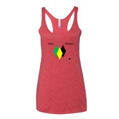 Jamaican Patois on Women's tank top