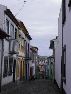 a street in Angra do Heroismo, Terceira, Azores