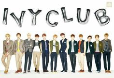 [Official] #EXO @IVY Club web update [2014]