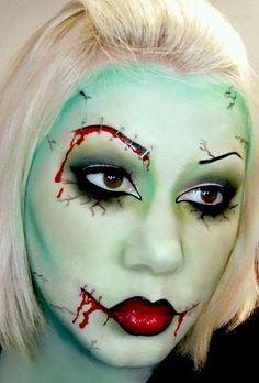 The Walking Dead Zombie look
