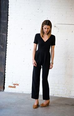 A jumpsuit that makes perfect sense with the human body.