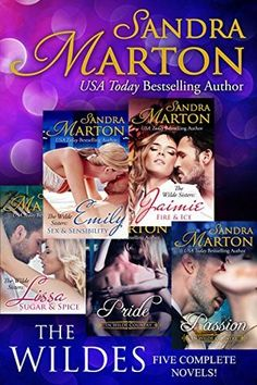 The Wildes: Five Complete Novels by Sandra Marton SALE! Books 2016, Fire And Ice, Usa Today, Sugar And Spice, Bestselling Author, Novels, Romance, Reading, Movie Posters