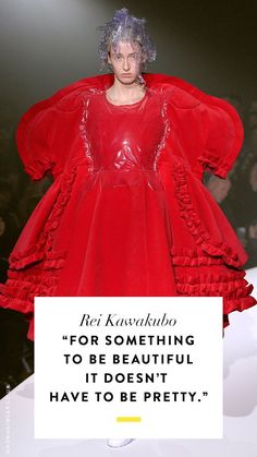 50 of the Best Fashion Quotes of All Time Fashion quotes: Rei Kawakubo Fashion 2018, Love Fashion, Fashion Ideas, Famous Fashion Quotes, Gorgeous Quotes, Beautiful, Girly Quotes, Looking For Women, Ball Gowns
