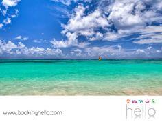 VIAJES EN PAREJA. Las playas de República Dominicana, son ideales para disfrutar de diferentes actividades acuáticas y tener un día lleno de aventura. Pesca, paddleboarding, parasailing, un paseo en catamarán, buceo y snorkeling, son algunas de las opciones más solicitadas por los turistas para agregar diversión a su día. En Booking Hello te recomendamos invitar a tu pareja, para vivir juntos esta experiencia. #escapatealcaribe