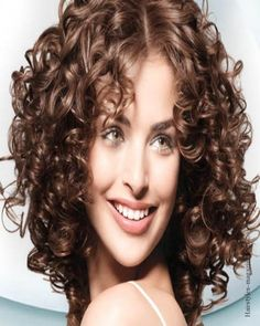 Curly Medium Hairstyles Messy Layers Curly Hair  Curly Hair  Pinterest  Layered Curly