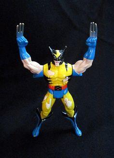 1995 Marvel Battle Damaged Wolverine Figure