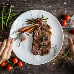 Quick dinner at home and relax on couch can fix it. Light vegetable snacks from new frying pan Remoska® for your health and juicy steak for your power on the next day. Vegetable Snacks, Juicy Steak, For Your Health, Relax, Couch, Photo And Video, Dinner, Vegetables, Ethnic Recipes