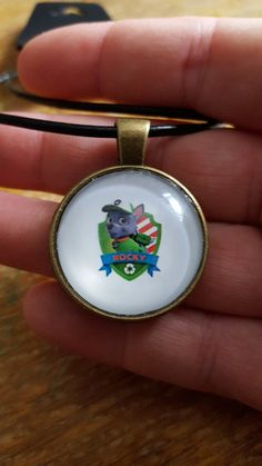 Rocky Paw Patrol Necklace by AwesomeOddities on Etsy