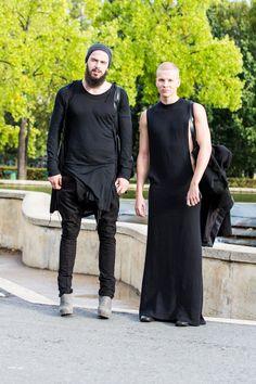 Visions of the Future: ダニラ| ストリートスタイル - a dress??