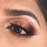 Diwali tutorial is up! Check it out ❤️Linked in bio! Eyes: @tartecosmetics tartlette toasted palette with #tartecosmetics eye jewels in 'White Gold'