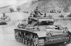 70 anos do fim da Segunda Guerra Mundial Legenda: Exército nazista na invasão à Tunísia (Keystone/Getty Images)