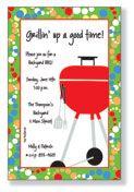 Grillin-party invitation