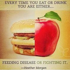 Diet Feed or Fight Disease