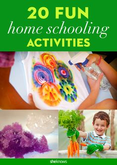 20 fun home schooling projects that blow worksheets out of the water. #DIY #Science