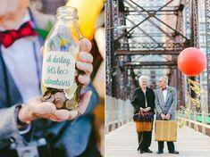 Романтическая фотосессия для бабушки и дедушки