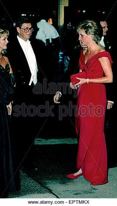 Washington, DC.,USA 4th October 1990 .Princess Diana arrives at the United States Department of Commerce building